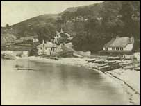 The Glen @ Babbacombe. site of the murder